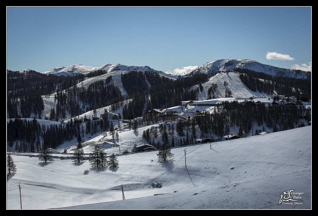 Valberg sous la neige