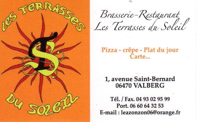 Restaurant Les Terrasses du soleil - Valberg