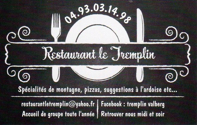 Restaurant Le Tremplin - Valberg