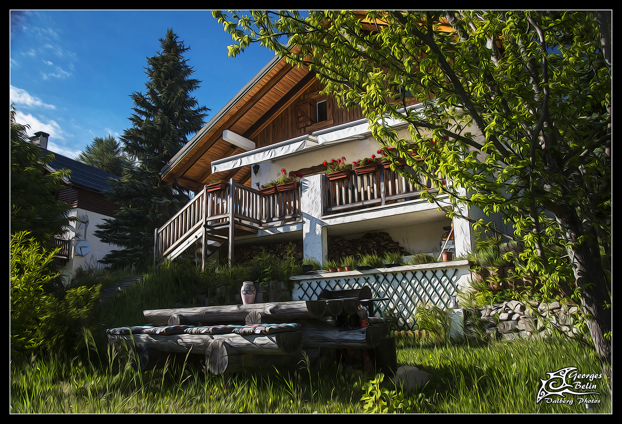 chalet sainte valberg chambres d h 244 tes valberg chalet sainte valberg
