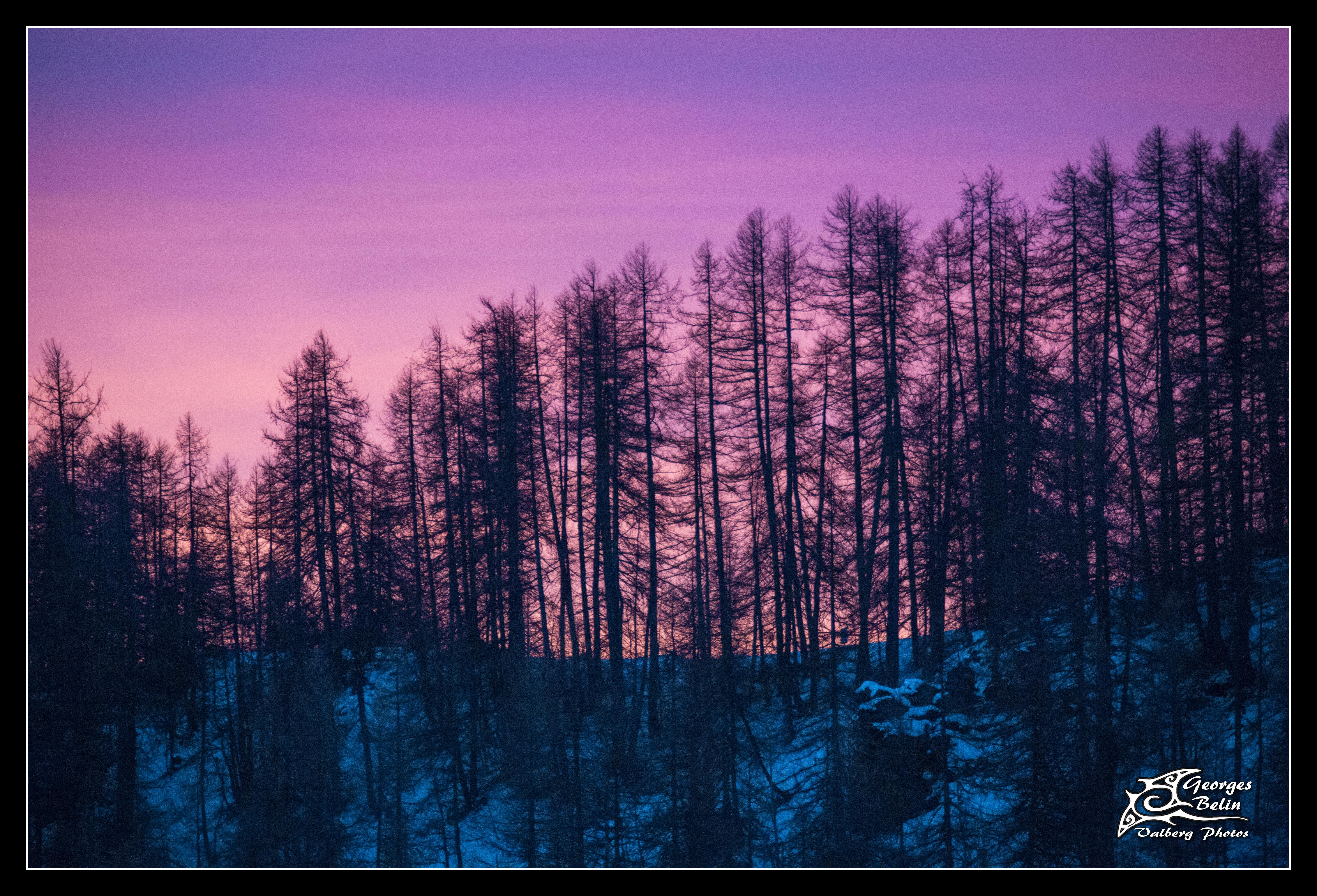 Sunrise in Valberg