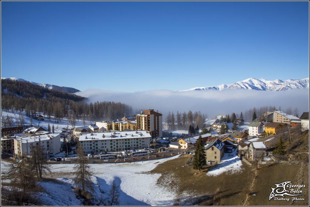 Mer de nuages à Valberg