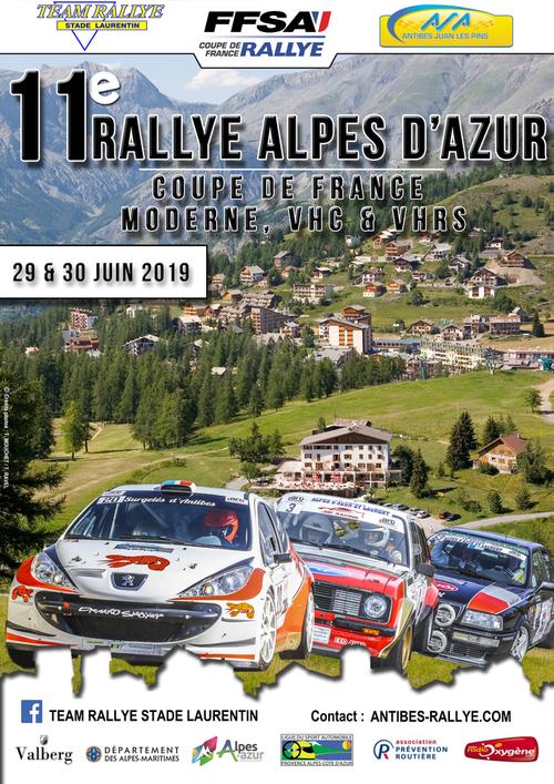 11 ème Rallye Alpes d'Azur