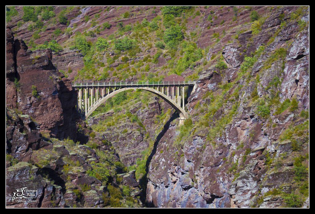 Pont de la mariée - Gorges de Daluis