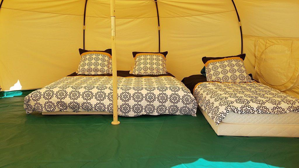 Tente Lotus belle - Chalet Sainte-Marie Valberg - Camping Valberg