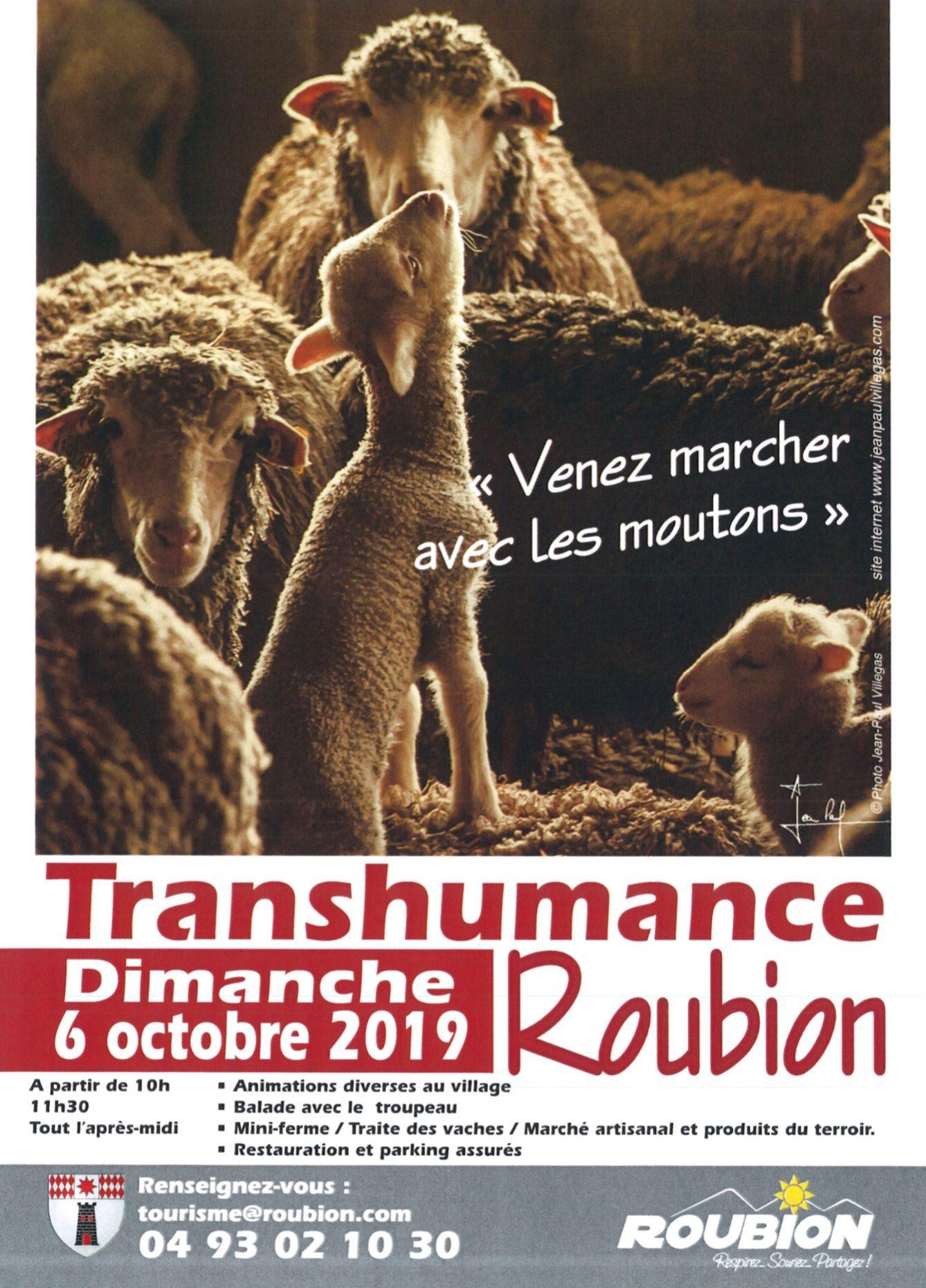 Transhumance Roubion